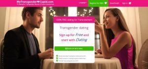 My Transgender Cupid página de inicio del sitio